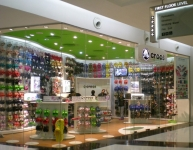 Crocs store in an Indian mall